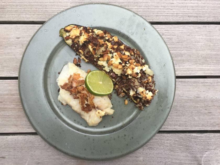 courgette-quinoa